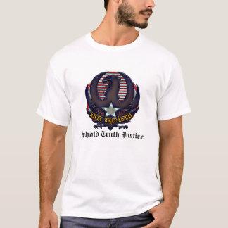 真実の正義を支えて下さい Tシャツ