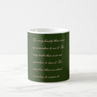 真実の美しい愛 コーヒーマグカップ