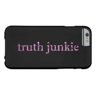真実の麻薬常習者 BARELY THERE iPhone 6 ケース