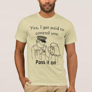 真実のTシャツを渡して下さい Tシャツ