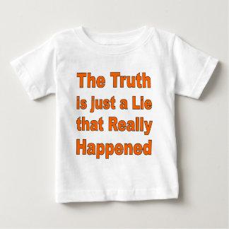 真実はちょうどうそです ベビーTシャツ