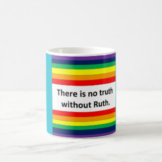真実はルースなしではありません コーヒーマグカップ