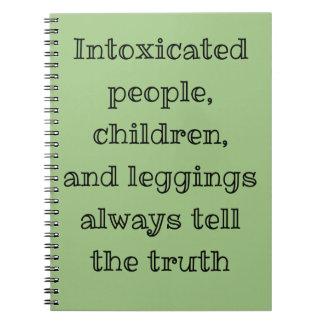 真実を常に言って下さい ノートブック