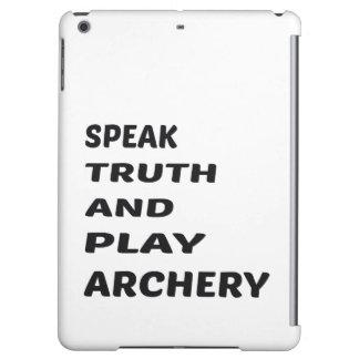真実を話し、アーチェリーを遊んで下さい iPad MINIケース