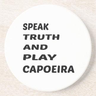 真実を話し、Capoeira.を遊んで下さい コースター