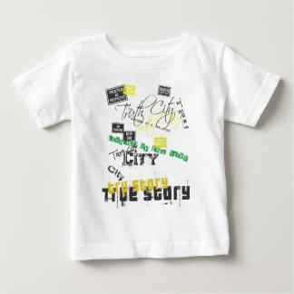 真実都市@zazzleの青写真cover.ai ベビーTシャツ