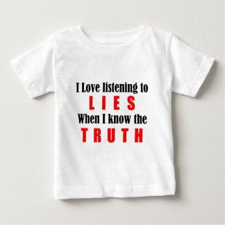 真実 ベビーTシャツ