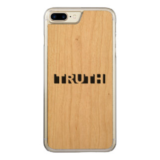 真実 CARVED iPhone 8 PLUS/7 PLUS ケース
