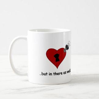 真実(r.handedのために) コーヒーマグカップ