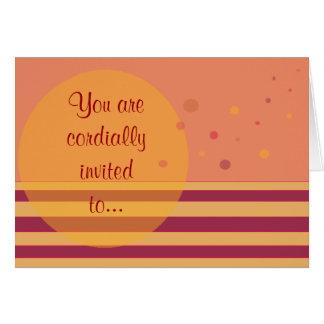 真心こめて…招待されます カード