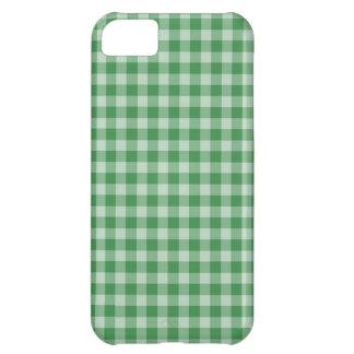 真新しいギンガム iPhone5Cケース