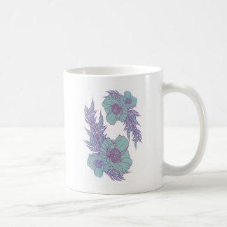 真新しいケシ コーヒーマグカップ