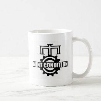 真新しいコグのロゴのマグ コーヒーマグカップ