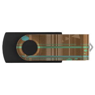 真新しいチョコレート幾何学 USBフラッシュドライブ