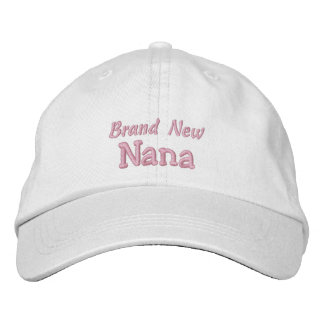 真新しいナナ祖父母の日か誕生日 刺繍入りキャップ
