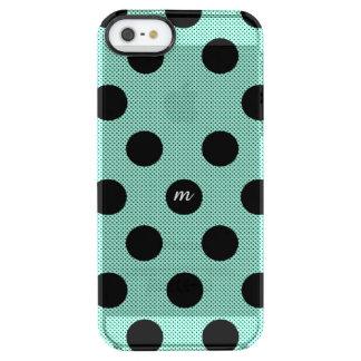 真新しいハーフトーンの点 クリア iPhone SE/5/5sケース