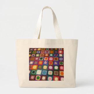 真新しいバッグ得られるおばあさん! ラージトートバッグ