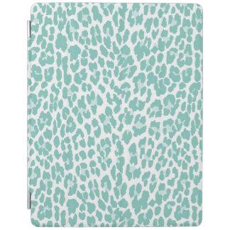 真新しいヒョウパターン iPadスマートカバー
