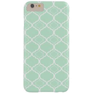 真新しい緑のクローバーの幾何学的なパターン BARELY THERE iPhone 6 PLUS ケース