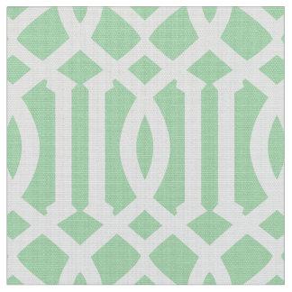 真新しい緑のモロッコパターン|生地 ファブリック