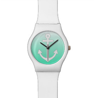 真新しくグラデーションな航海の 腕時計