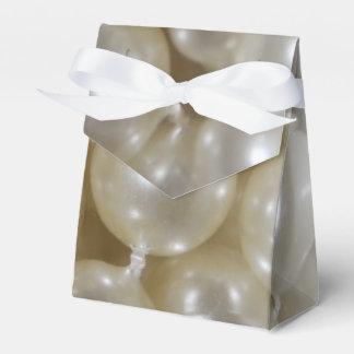 真珠によって印刷される結婚式の引き出物はカスタムを囲みます フェイバーボックス