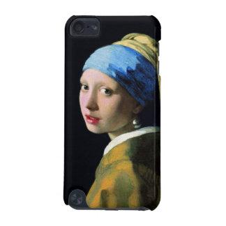 真珠のイヤリングのバロックの芸術の1月Vermeerの女の子 iPod Touch 5G ケース