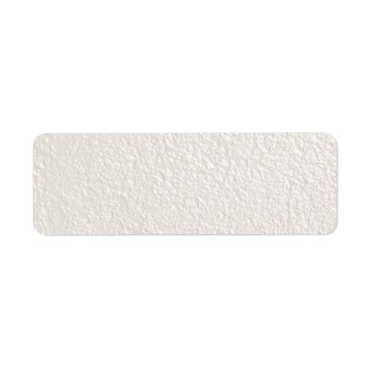 真珠のクリームがかった白の織り目加工の背景のテンプレート 返信用宛名ラベル