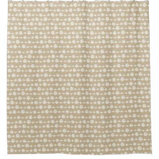 真珠のシャワー・カーテンの一連 シャワーカーテン