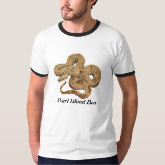 真珠の島のボアの信号器のTシャツ Tシャツ