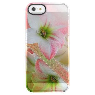 真珠の珍しいiPhone 5s Clearly™のディフレクターの箱 クリア iPhone SE/5/5sケース