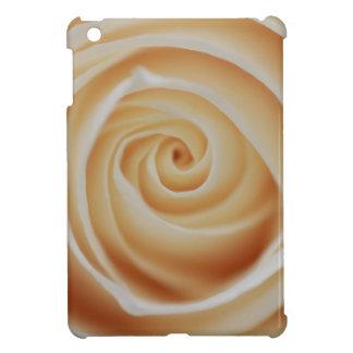 真珠の白いバラ iPad MINIケース