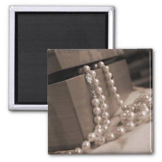 真珠の磁石 マグネット