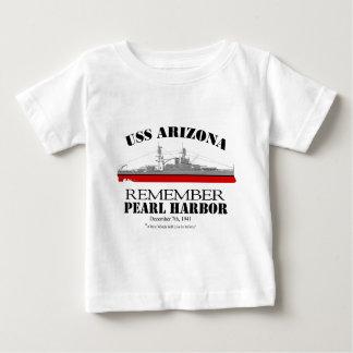 真珠湾を覚えて下さい ベビーTシャツ