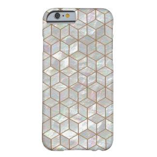 真珠色のタイル BARELY THERE iPhone 6 ケース