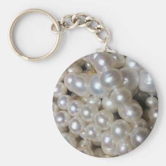 真珠 キーホルダー