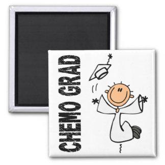 真珠CHEMOの卒業生1 (肺癌) マグネット