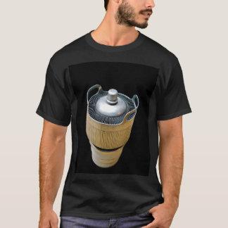 真空管の黒いTシャツを送信する高い発電 Tシャツ