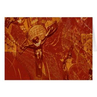 真鍮のイエス・キリスト カード