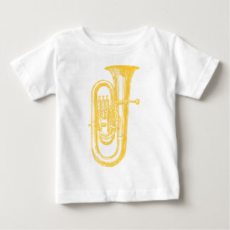 """""""真鍮の""""テューバ ベビーTシャツ"""