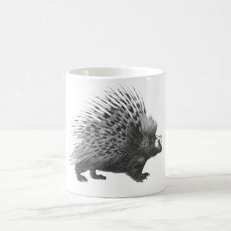 真面目なヤマアラシ コーヒーマグカップ