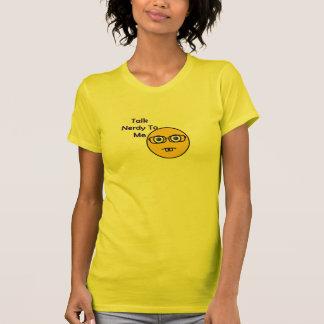 真面目な女の子のTシャツ Tシャツ