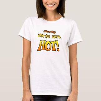 真面目な女の子は熱いです! 女性のT Tシャツ