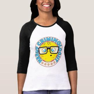 真面目な犯罪学者 Tシャツ