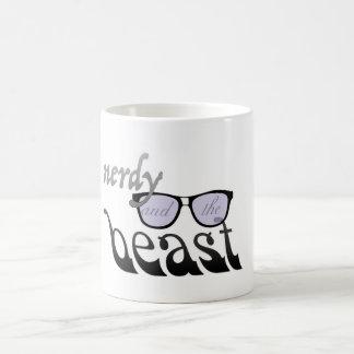 真面目、獣 コーヒーマグカップ