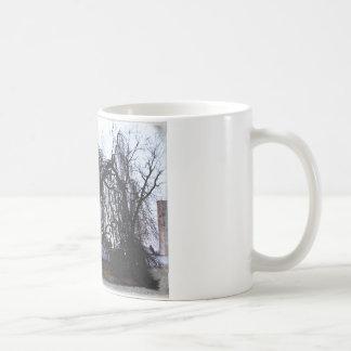 眠いヤナギ コーヒーマグカップ