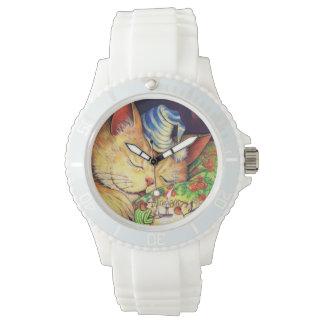 眠い子猫の腕時計 腕時計