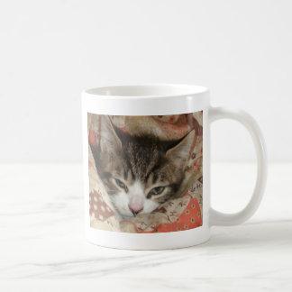 眠い子猫 コーヒーマグカップ