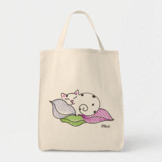 眠い子猫 トートバッグ
