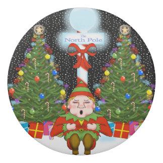 眠い小妖精や小人のクリスマスの消す物 消しゴム